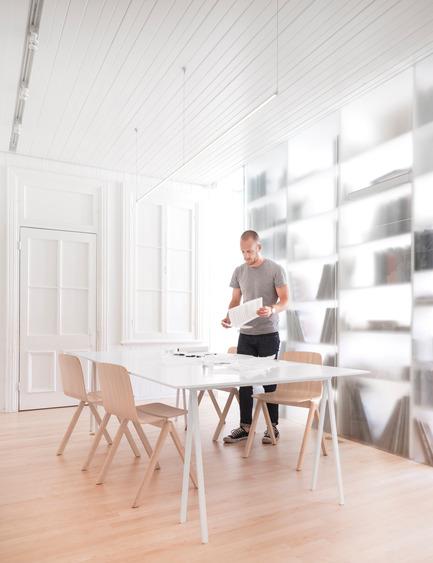 Dossier de presse | 1113-05 - Communiqué de presse | la Shed - la SHED architecture - Architecture commerciale - Salle de réunion - Crédit photo : Maxime Brouillet