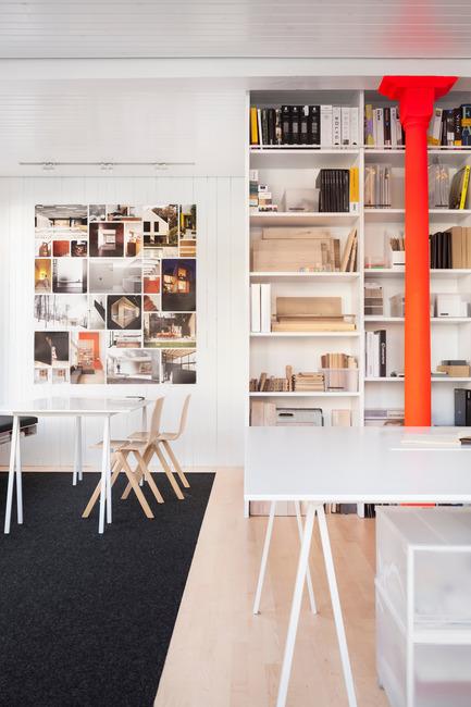 Press kit   1113-05 - Press release   la Shed - la SHED architecture - Commercial Architecture - Meeting space - Photo credit: Maxime Brouillet