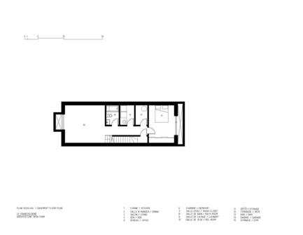 Dossier de presse | 1917-01 - Communiqué de presse | Le François-René: liberté créative et développement durable - Maître Carré - Architecture résidentielle - Crédit photo : Architecture Open Form