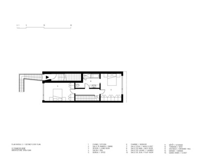 Press kit   1917-01 - Press release   The François-René project: creativity and sustainability - Maître Carré - Residential Architecture - Photo credit: Architecture Open Form