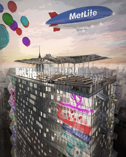 "Dossier de presse | 865-18 - Communiqué de presse | Lemay Wins Top Honors At The  ""Reimagine A New York City Icon"" Competition - Lemay - Concours - Crédit photo : Lemay"