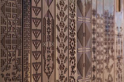Press kit | 1604-05 - Press release | Design Days Dubai, the world's most diverse fair dedicated to collectable design opens March 14, 2016 - Design Days Dubai - Commercial Interior Design - NAQSH Collective,Nermeen & Nisreen - Photo credit: NAQSH Collective,Nermeen & Nisreen