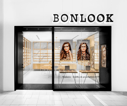 Press kit | 675-08 - Press release | Ædifica designs BonLook's first concept store - Ædifica - Commercial Interior Design - BonLook - Photo credit: Drew Hadley