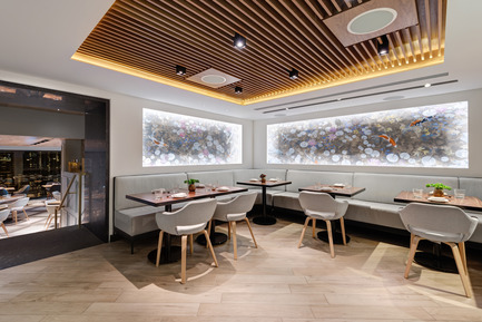 Press kit | 2066-01 - Press release | Canadian Design studio II BY IV DESIGN receives growing international recognition for Retail Environments - II BY IV DESIGN - Commercial Interior Design - Kasa Moto_First Floor Dining - Photo credit: Arnaud Marthouret