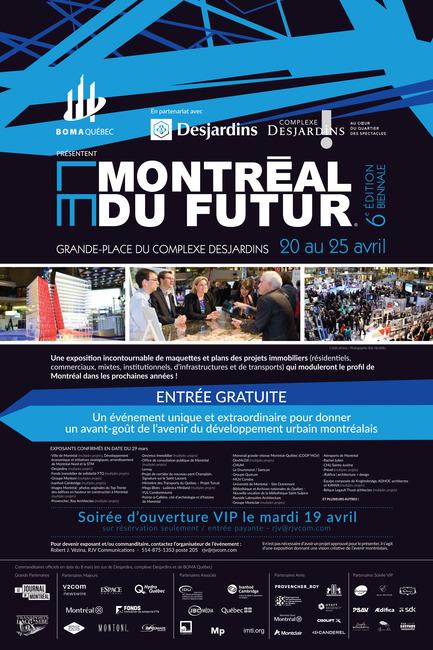 Dossier de presse | 1023-02 - Communiqué de presse | L'exposition biennale Le Montréal du futur® - édition 2016 - Le Montréal du futur - Immobilier - Crédit photo : Le Montréal du futur