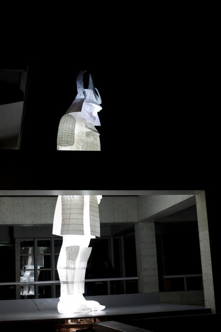 Press kit | 1144-02 - Press release | D'DAYS– The Design Festival– Grand Paris - D'DAYS - Event + Exhibition -  Villa Kujoyama - Musée de la Chasse - José Lévy - Le veilleur  - Photo credit:  José Lévy