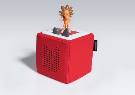 Press kit | 2074-01 - Press release | Toniebox wins Red Dot Award: Best of the Best - Boxine GmbH - Product - Toniebox and Tonie - the new digital audio system for children - Photo credit: Boxine GmbH