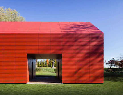 Press kit | 1071-03 - Press release | Architizer Announces 2016 A+Awards Winners - Architizer - Competition - Red Barn by Roger Ferris + Partners, Public Winner, Architecture<br>+Color - Photo credit: Architizer