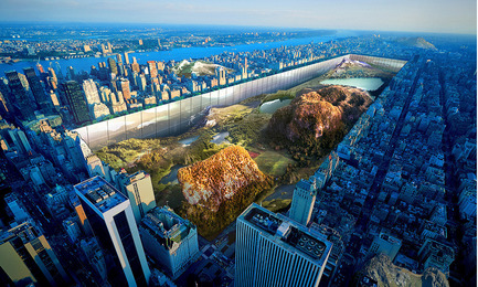Dossier de presse | 1127-05 - Communiqué de presse | Winners 2016 Skyscraper Competition - eVolo Magazine - Concours - New York Horizon - First Place - Crédit photo : Yitan Sun, Jianshi Wu