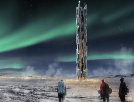 Dossier de presse | 1127-05 - Communiqué de presse | Winners 2016 Skyscraper Competition - eVolo Magazine - Concours - Data Skyscraper: Sustainable Data Center in Iceland - Crédit photo : Valeria Mercuri, Marco Merletti