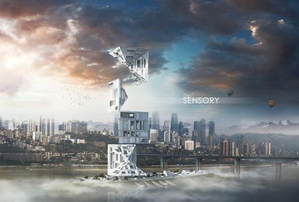 Dossier de presse | 1127-05 - Communiqué de presse | Winners 2016 Skyscraper Competition - eVolo Magazine - Concours - Sensory Skyscraper - Crédit photo : Alexandr Pincov, Heng Chang