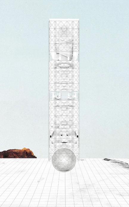 Dossier de presse | 1127-05 - Communiqué de presse | Winners 2016 Skyscraper Competition - eVolo Magazine - Concours - Agora: Vertical Streetscape - Crédit photo : Alessandro Arcangeli, Filippo Fiorani