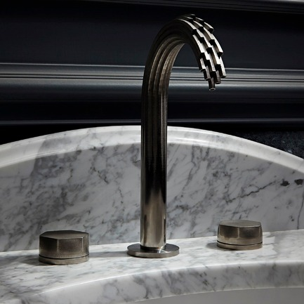 Dossier de presse | 902-07 - Communiqué de presse | A' Design Awards 2016 Winners Announced - A' Design Award and Competition - Residential Architecture - Shadowbrook 3d Printed Metal Faucet - Crédit photo : DXV by American Standard