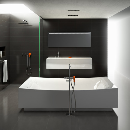 Press kit | 2103-01 - Press release | Red Dot Design Award Best of the Best: Special recognition for exceptional quality - Clou - Residential Interior Design - Clou - Hammock bathroom 08 - Photo credit: Clou bv.