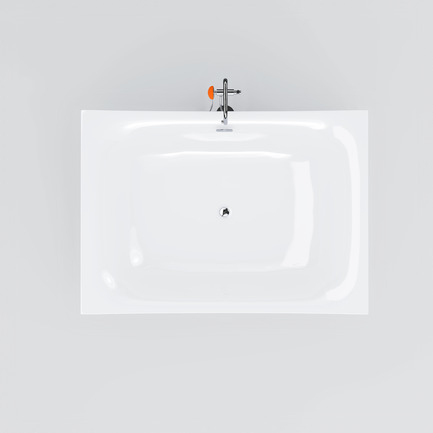 Dossier de presse | 2103-01 - Communiqué de presse | Red Dot Design Award Best of the Best: Special recognition for exceptional quality - Clou - Residential Interior Design - Clou - Hammock bath topview - Crédit photo : Clou bv.