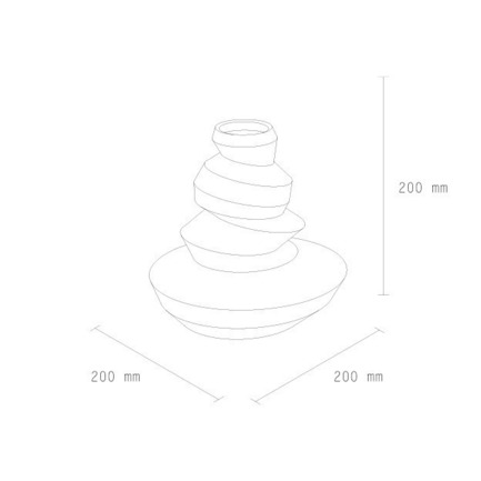 Press kit | 2095-01 - Press release | Seismographic Vases - dua - Product - dua, Seismographic Vase, New Zealand - Photo credit: Jonathan Radetz