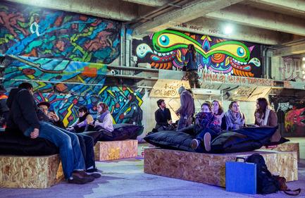 Press kit | 1969-02 - Press release | Chromatic makes stop at the Old Port of Montreal for its 7th edition - Chromatic Festival - Art - Chromatic Paris 2015, Cité de la mode et du Design - Photo credit: Bruno Destombes