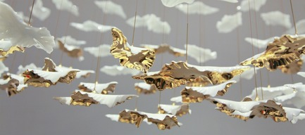 Press kit | 2092-01 - Press release | designjunction + Dwell on Design announce line-up for NYCxDesign 2016 - designjunction + Dwell on Design - Event + Exhibition - The Leaf installation by Haberdashery - Photo credit: designjunction + dwell on design
