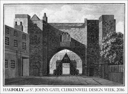 Press kit | 1818-07 - Press release | Clerkenwell Design Week 2016 - Clerkenwell Design Week - Event + Exhibition - HakFolly - Photo credit: Clerkenwell Design Week<br>