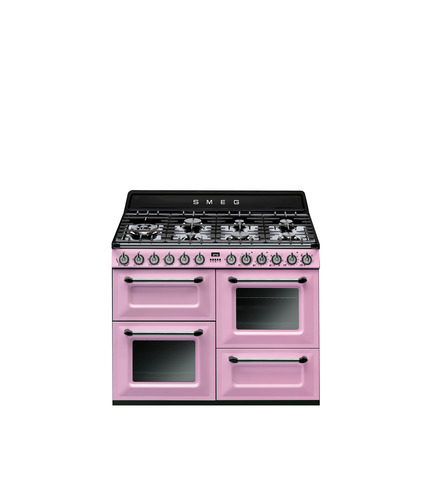 Press kit | 2116-01 - Press release | Red Dot Award: Product Design 2016, Smeg Wins Over The International Juries Once Again - SMEG - Competition -         Cooker Smeg TR4110 : Victoria Aesthetic cooker with gas hobs, main and auxiliary oven, grill, 110X60 cm. - Photo credit: Smeg