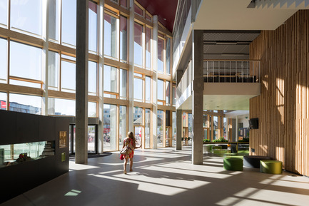 Press kit | 2127-01 - Press release | South Harbour School by JJW Architects wins WAN Education Award - JJW Architects - Institutional Architecture -  South Harbour School 08 - Photo credit: Torben Eskerod