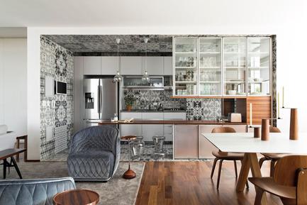 Press kit | 1177-04 - Press release | 360° Apartment by Diego Revollo - Ceramiche Refin S.p.A. - Residential Interior Design - 360º Apartment<br> - Photo credit:  Alain Brugier