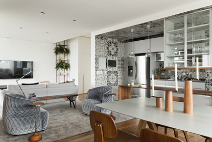 Press kit | 1177-04 - Press release | 360° Apartment by Diego Revollo - Ceramiche Refin S.p.A. - Residential Interior Design - 360º Apartment - Cover - Photo credit: Alain Brugier