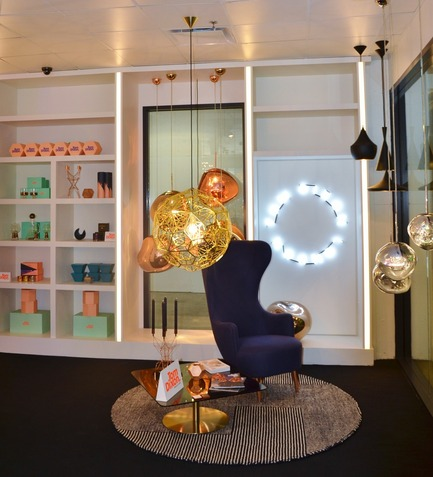Press kit | 1152-07 - Press release | Opening of the new showroom boutique: Le Studio Luminaires - LumiGroup - Lighting Design - Tom Dixon Lighting, Furniture & Accessories  - Photo credit: Le Studio Luminaires