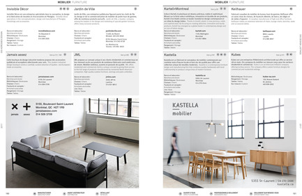 Press kit | 611-23 - Press release | Index-Design launches the 9th annual Guide – 300 Addresses to Design and Renovate - Index-Design - Edition - Listing - Photo credit: Index-Design