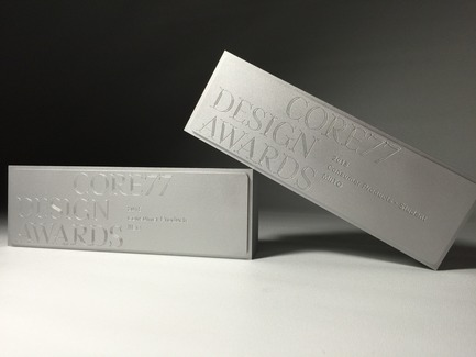 Press kit | 2048-02 - Press release | 2016 Core77 Design Awards Honoree Results Revealed - Core77 Design Awards - Competition - Trophy - Photo credit: Core77