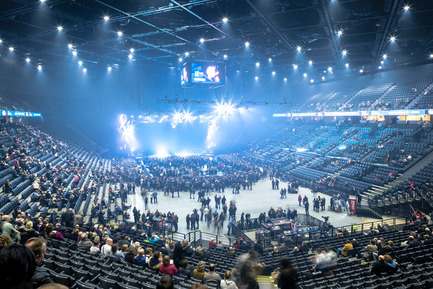 Press kit | 2042-01 - Press release | The AccorHotels Arena - DVVD architecture, design and engineering agency - Commercial Architecture - Photo credit: Sergio Grazia