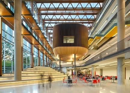 Press kit | 2124-01 - Press release | The Illuminating Engineering Society of British Columbia announces its 'Vision Award' winners for 2016 - IESBC - Lighting Design - UBC Student Union Building  - Photo credit: Ema Peter<br>