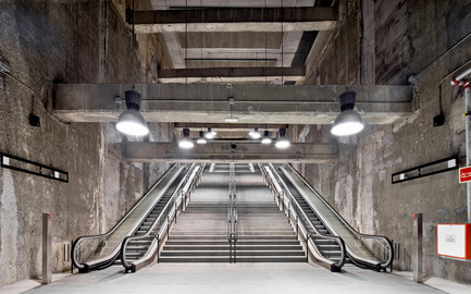 Press kit | 1830-07 - Press release | FAD Awards Winners 2016 - FAD - Fostering Arts and Design - Competition - 2016 FAD Interior Design Award<br><br>Three subway stations of the 9 line<br>Barcelone and l'Hospitalet de Llobregat (Spain)<br><br>Authors:&nbsp;<br>Garcés-de Seta-Bonetarquitectes Tec4 Enginyers Consultors, engineers&nbsp;<br> - Photo credit: Adrià Goula