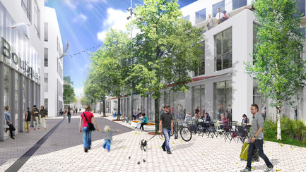 Press kit | 952-09 - Press release | National Urban Design Award for the urban design plan of the Technopôle Angus – Phase II project - Provencher_Roy - Urban Design - Photo credit: Provencher_Roy