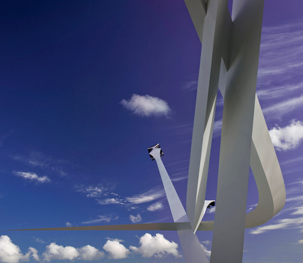 Dossier de presse | 1022-04 - Communiqué de presse | BMW Centenary Sculpture Goodwood Festival of Speed 2016 - Gerry Judah - Art - Crédit photo : David Barbour