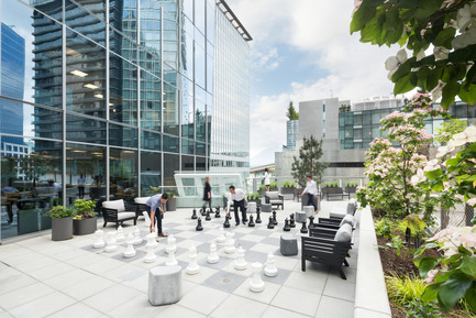 Press kit | 2073-01 - Press release | DIALOG awarded 'Best Tenant Improvement' for LGM's Vancouver Head Office - DIALOG - Commercial Interior Design - LGM's 3,000 sq. ft. outdoor space - Photo credit: Ema Peter<br>