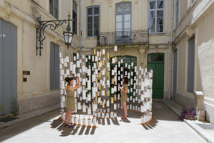 Press kit | 982-30 - Press release | Festival des Architectures Vives 2016 - Montpellier et La Grande Motte - Association Champ Libre - Festival des Architectures Vives (FAV) - Design urbain - Paradigmes<br>Judith Chatain, Gabrielle Doublet et Audrey Farinole - Photo credit: Paul KOZLOWSKI ©photoarchitecture.com<br>Site&nbsp;: http://photoarchitecture.com