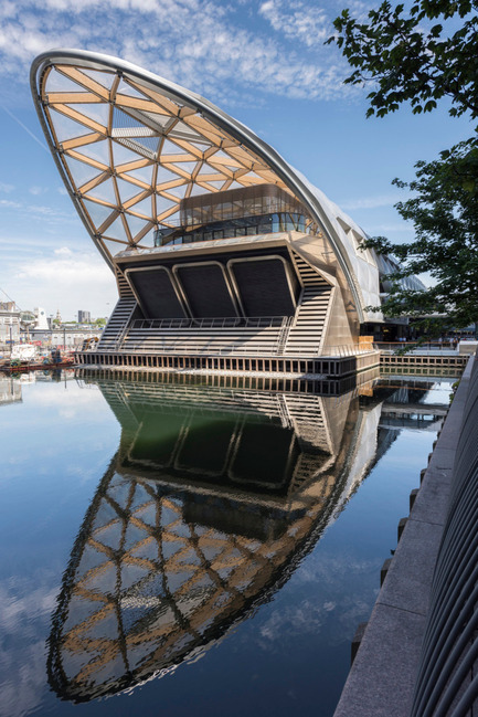 Dossier de presse | 661-34 - Communiqué de presse | World Architecture Festival announces 2016 Awards shortlist - World Architecture Festival (WAF) - Concours - Crossrail Place by Foster +Partners - Crédit photo : World Architecture Festival
