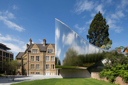 Press kit | 661-34 - Press release | World Architecture Festival announces 2016 Awards shortlist - World Architecture Festival (WAF) - Competition - Investcorp Building for Oxford University's Middle East Centre at St Antony's College by Zaha Hadid Architects - Photo credit: World Architecture Festival