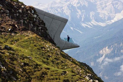 Press kit | 661-34 - Press release | World Architecture Festival announces 2016 Awards shortlist - World Architecture Festival (WAF) - Competition - Messner Mountain Museum by Zaha Hadid Architects - Photo credit: World Architecture Festival