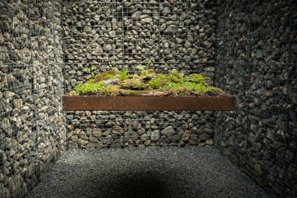 Press kit | 837-16 - Press release | Opening of the 17th International Garden Festival - International Garden Festival / Reford Gardens - Landscape Architecture -  LE CAVEAU by Christian Poules, Basel, Switzerland   - Photo credit: Martin Bond
