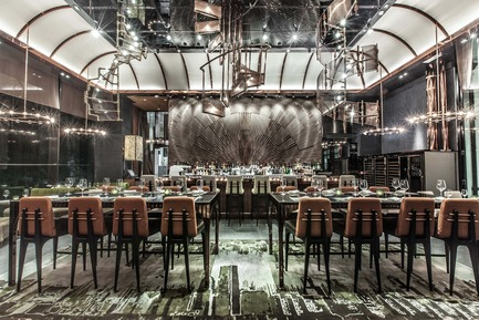 Dossier de presse | 1080-02 - Communiqué de presse | International Awards shortlist announced - INSIDE: World Festival of Interiors - Competition - Ammo Bar + Restaurant, Hong Kong<br>by WANG