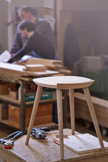Press kit | 1539-03 - Press release | WW Chair - H Furniture Ltd. - Industrial Design - WW Chair - Production - Photo credit: H Furniture Ltd.