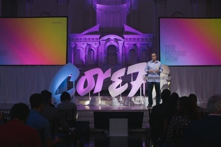 Press kit | 2048-03 - Press release | 3rd Annual Core77 Conference Tickets Now Available - Core77 - Industrial Design - 2015 Core77 Conference - Opening Ceremony with Co-Founder Stuart Constantine - Photo credit: Core77