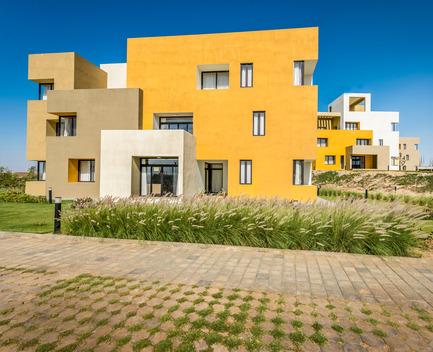 Dossier de presse | 1432-01 - Communiqué de presse | Studios 18 - Sanjay Puri Architects - Residential Architecture - WEST VIEW - F BLOCK - Crédit photo : Vinesh Gandhi