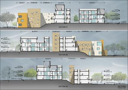 Dossier de presse | 1432-01 - Communiqué de presse | Studios 18 - Sanjay Puri Architects - Residential Architecture - SECTIONS - Crédit photo : Sanjay Puri Architects