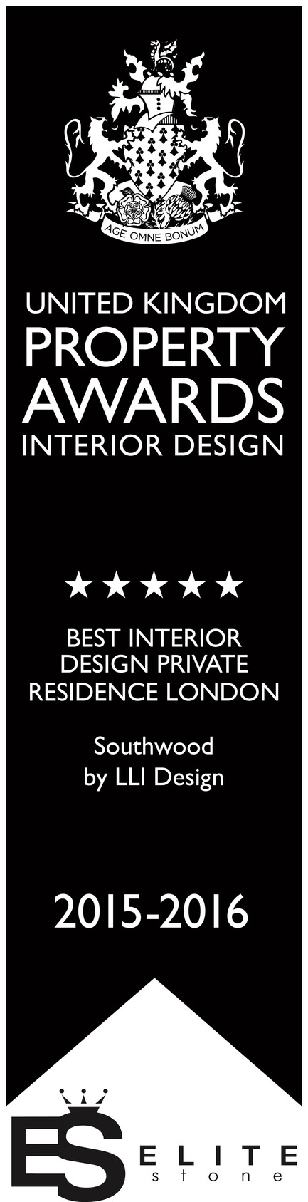 Dossier de presse | 1701-02 - Communiqué de presse | Southwood -Award winning contemporary London townhouse - LLI Design - Residential Interior Design - Southwood - Best Interior Design Private Residence, London - UK Property Awards - 2015 / 16 - Crédit photo : United Kingdom Property Awards