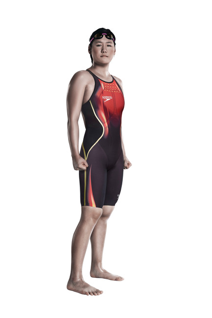 Press kit | 2170-01 - Press release | Look faster, feel faster and be faster with the SPEEDO® Fastskin LZR Racer X - Speedo - Product - Ye Shiwen - Photo credit: Speedo