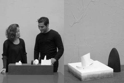 Press kit | 1834-06 - Press release | Announcing Dubai Design Week 2016 - Dubai Design Week - Event + Exhibition - Abwab 2016, curator/design duo of Iraq's design pavilion, Rand Abdul Jabbar andHozan Zangana  - Photo credit: Dubai Design Week
