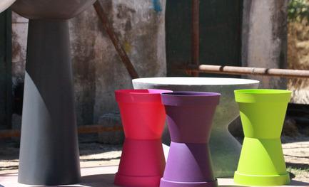 Press kit | 1834-06 - Press release | Announcing Dubai Design Week 2016 - Dubai Design Week - Event + Exhibition - Abwab 2016,contemporary Algerian design-drums - Photo credit: Dubai Design Week